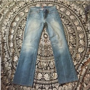 EUC Boot Cut 7 FAM Jeans